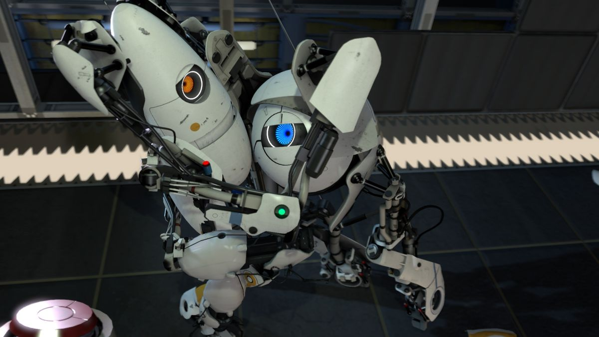 Portal 2 just got a new update, and it improves local cooperative play