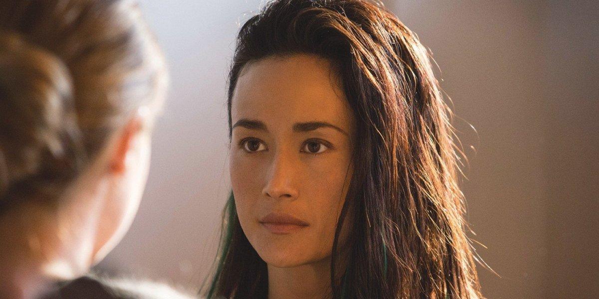 Maggie Q in Divergent