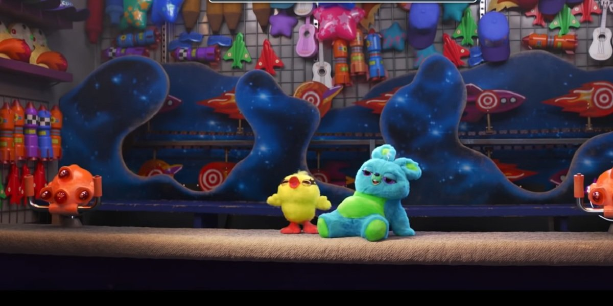 Keegan-Michael Key and Jordan Peele as Ducky and Bunny in Toy Story 4