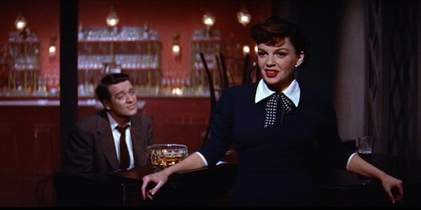 Judy Garland and James Mason in Star is Born 1954