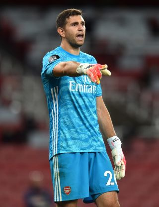 Emiliano Martinez has been told he will start in goal for Arsenal in the FA Cup final