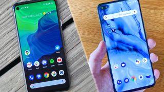 Google Pixel 4a vs. OnePlus Nord