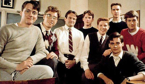 Dead Poets' Society Robin Williams class photo