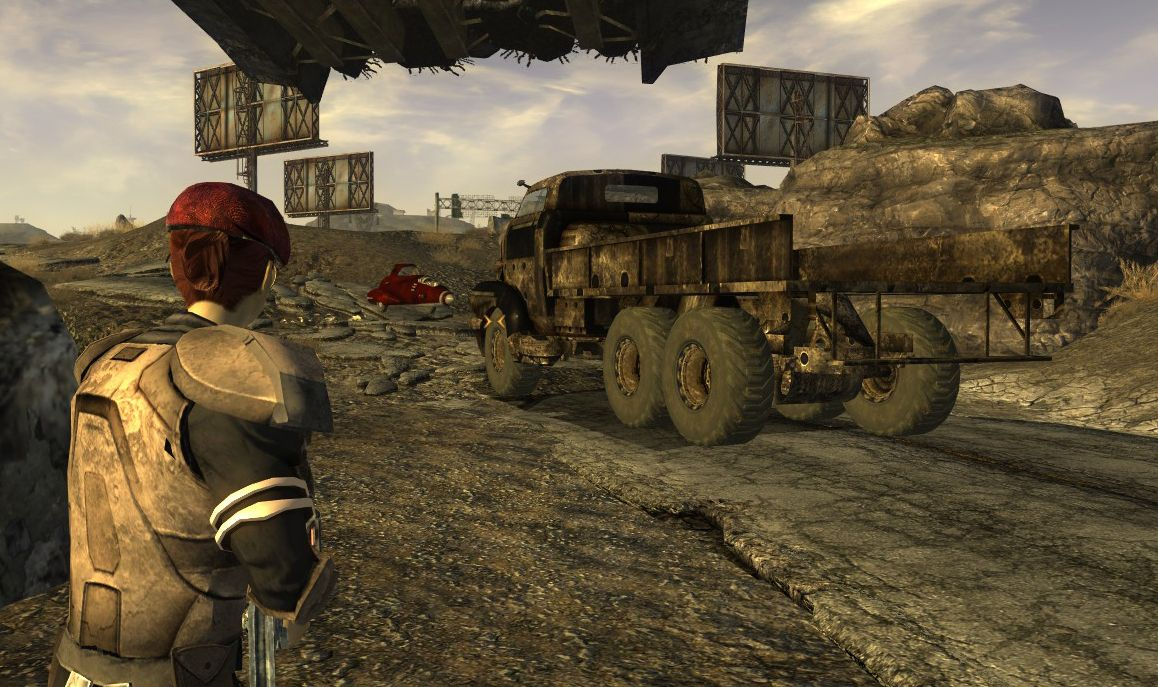 Fallout: New Vegas modder adds moving vehicles to roads ...