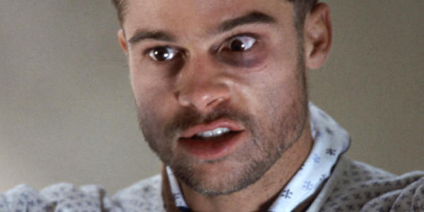 12 Monkeys Brad Pitt crazy face