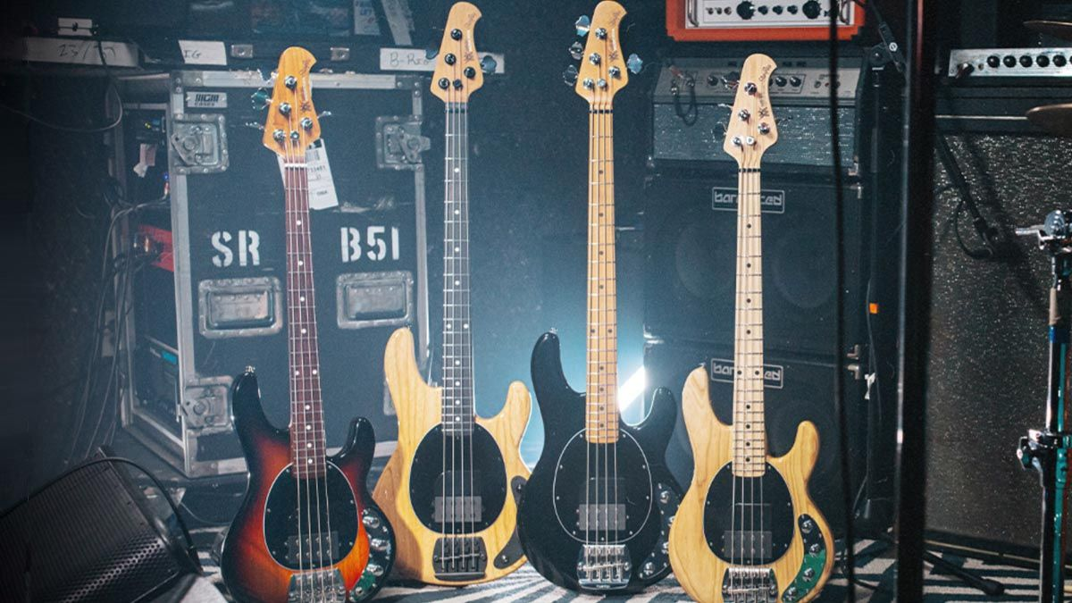 Ernie Ball Music Man unveils limited edition Tim Commerford Artist Series StingRay collection