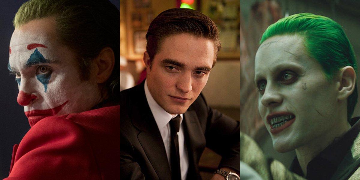 Joaquin Phoenix, Robert Pattinson and Jared Leto
