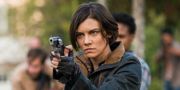 Maggie saving Alexandria