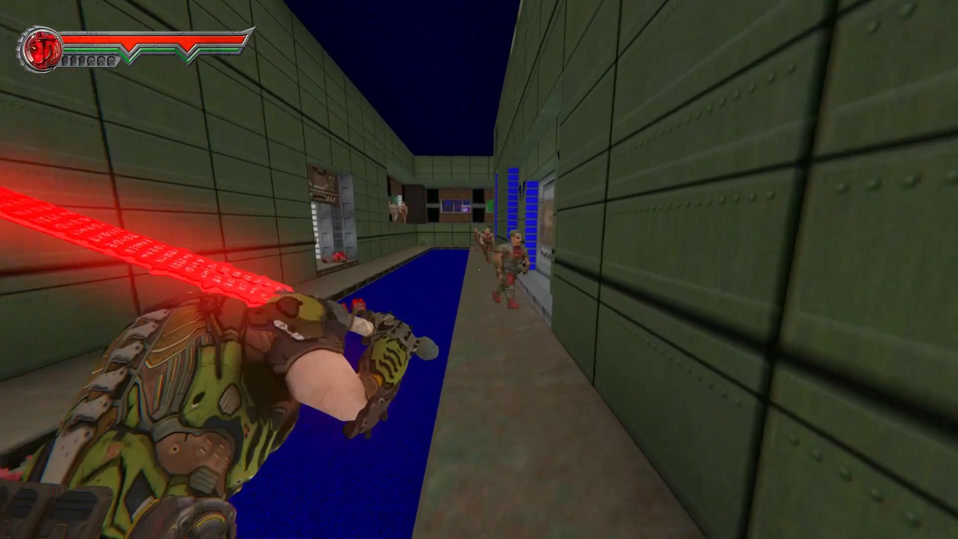 This mod makes Doom 2 a third-person hack-and-slash | PC Gamer