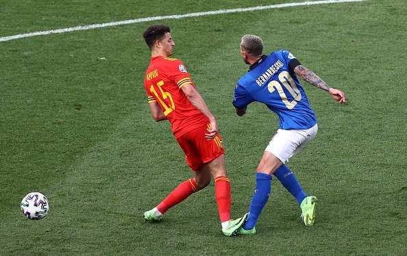Ethan Ampadu red card Italy vs Wales Euro 2020 group liveblog