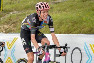 Giro dItalia 2021 104th Edition 6th stage Grotte di Frasassi Ascoli Piceno 160 km 13052021 Hugh John Carthy GBR EF Education Nippo photo Tommaso PelagalliBettiniPhoto2021