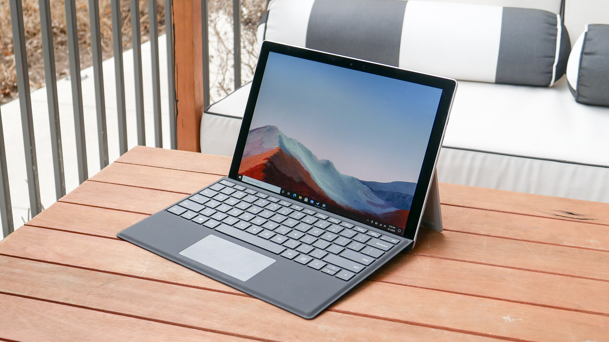 Microsoft Surface Pro 7+ review   Laptop Mag