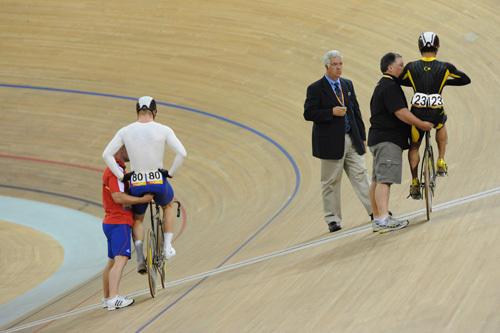 Chris Hoy sprint Olympics 2008