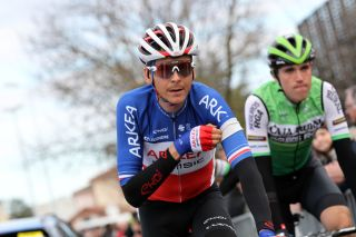 French road race champion Warren Barguil (Arkéa-Samsic) at the 2020 Drome Classic, where he finished second