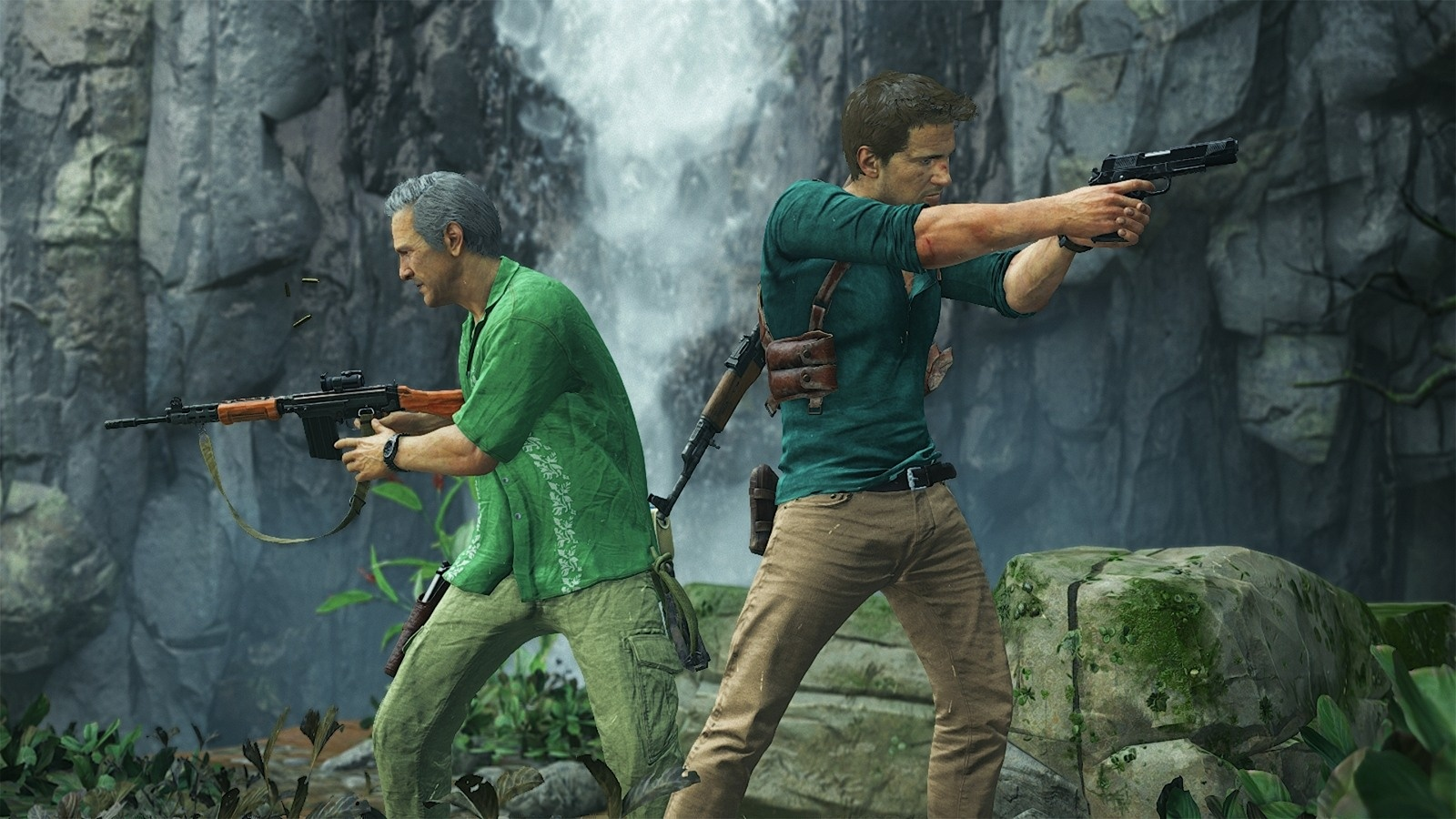 Uncharted 4 Could Get Split Screen Multiplayer In The Future Ps4uncharted A Thief End Reg 3 All Gamesradar