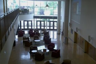 College Atrium Outfitted with JBL Loudspeakers