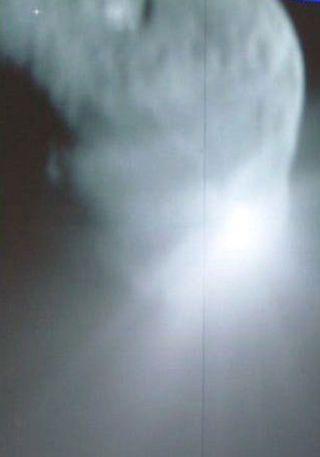 Bullseye: Deep Impact Slams Into Comet
