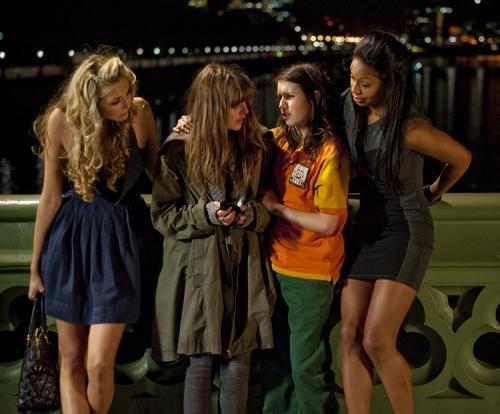 4.3.2.1. - Tamsin Egerton's Cassandra, Ophelia Lovibond's Shannon, Emma Roberts' Jo and Shanika Warren-Markland are the heroines of Noel Clarke's caper thriller