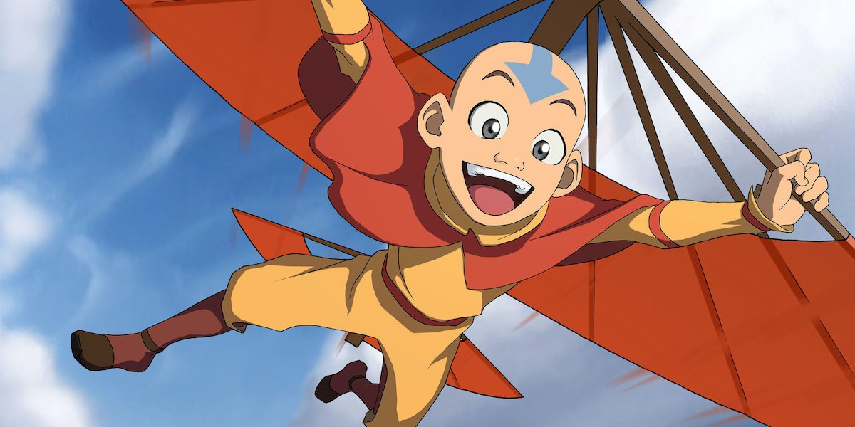Aang in Avatar: The Last Airbender