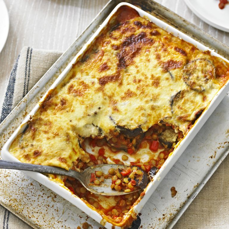 Vegetarian Moussaka recipe-recipes-recipe ideas-new recipes-woman and home