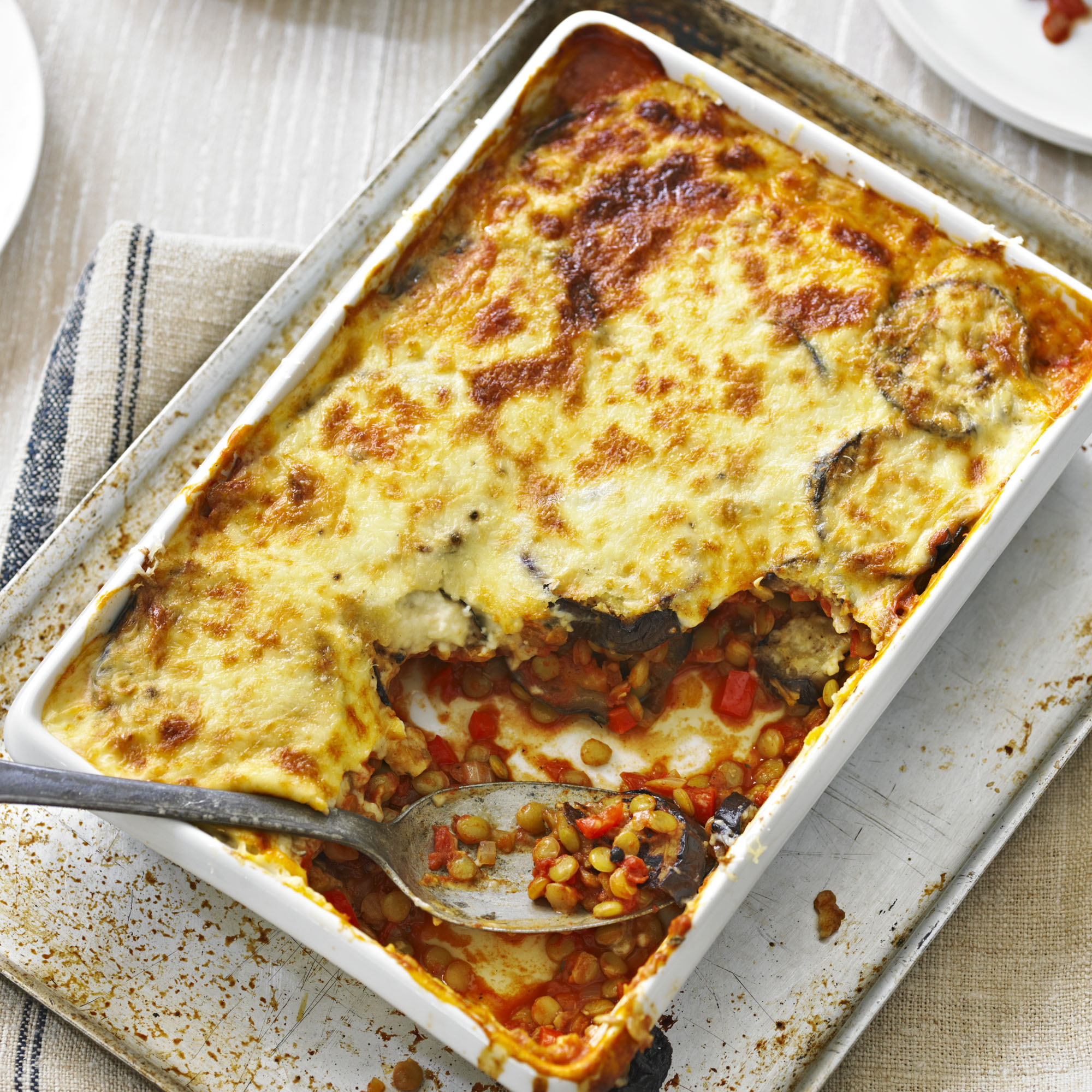 Vegetarian Moussaka Dinner Recipes Woman Home