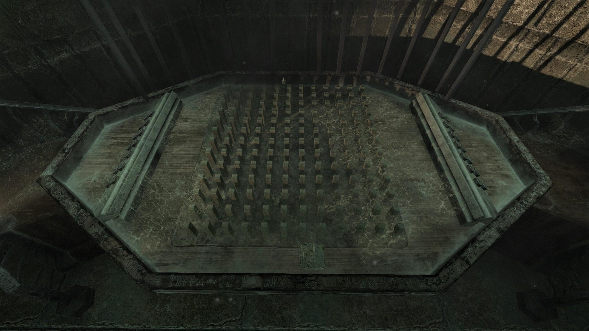 A small tabletop maze in Amnesia: Rebirth