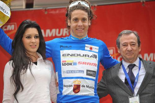 Alexandre Blain, Tour of Murcia 2010, stage three