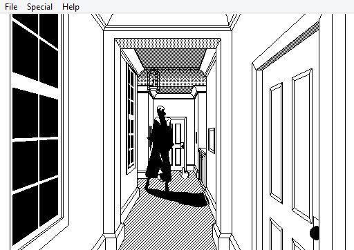 P.T. remade in ancient Mac tool HyperCard
