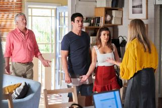 Home and Away spoilers, John Palmer, Justin Morgan, Leah Patterson, Susie McAllister