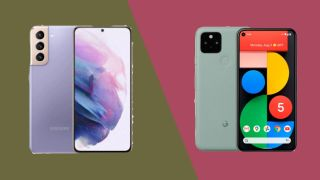 Samsung Galaxy S21 vs Google Pixel 5