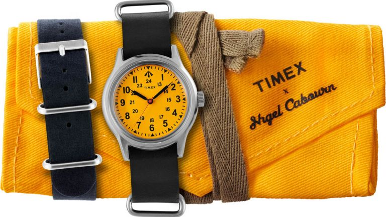Timex Survival Watch is a WWII-inspired timepiece by Nigel Cabourn