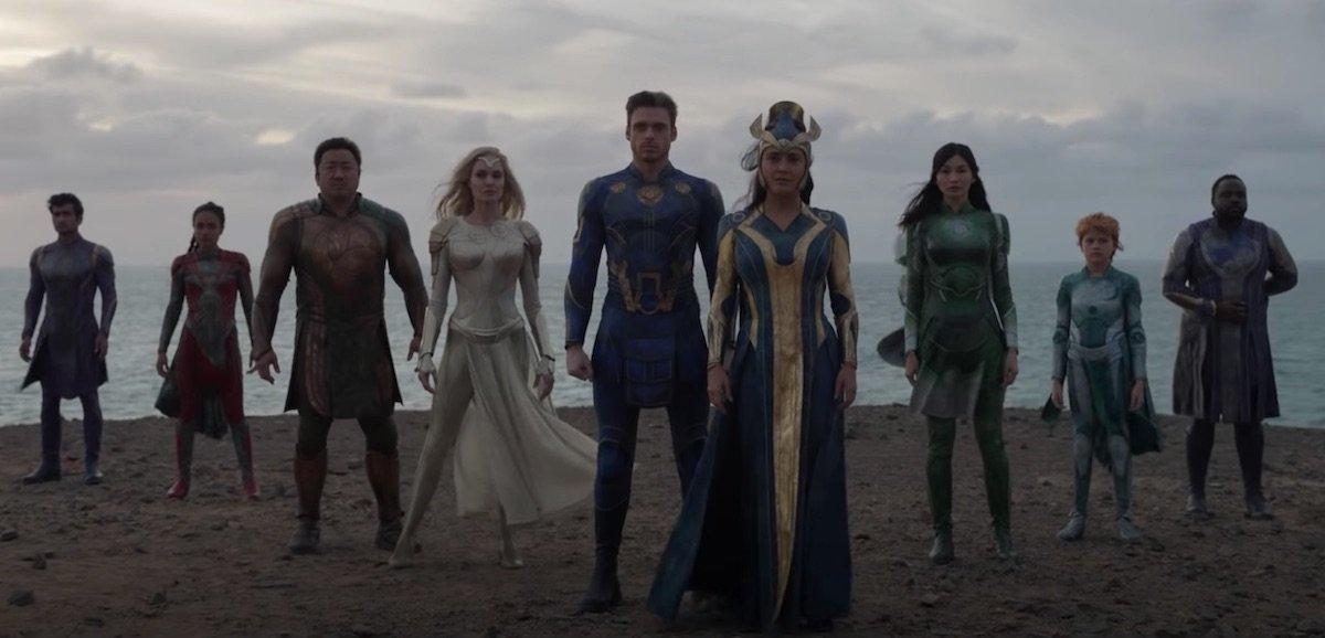 The Eternals main cast