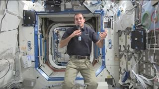 Astronaut Mastracchio Speaks With SPACE.com Aboard International Space Station