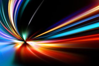 abstract night acceleration speed, motion.