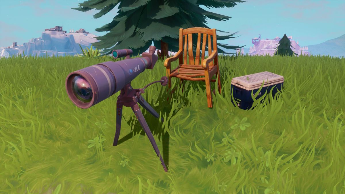 Fortnite Telescope locations: Where to dance at different ...