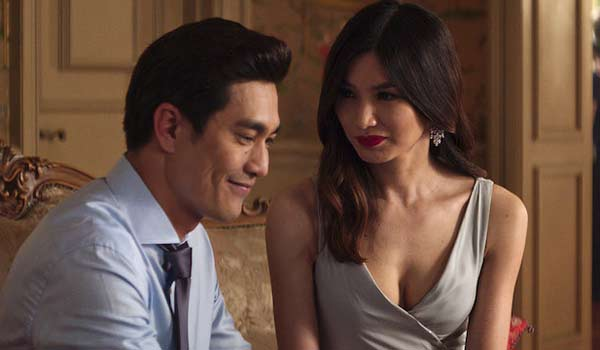 Astrid and husband Michael in Crazy Rich Asians