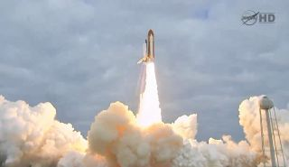 space shuttle Endeavor lift-off