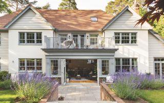 large balcony ideas in self-build