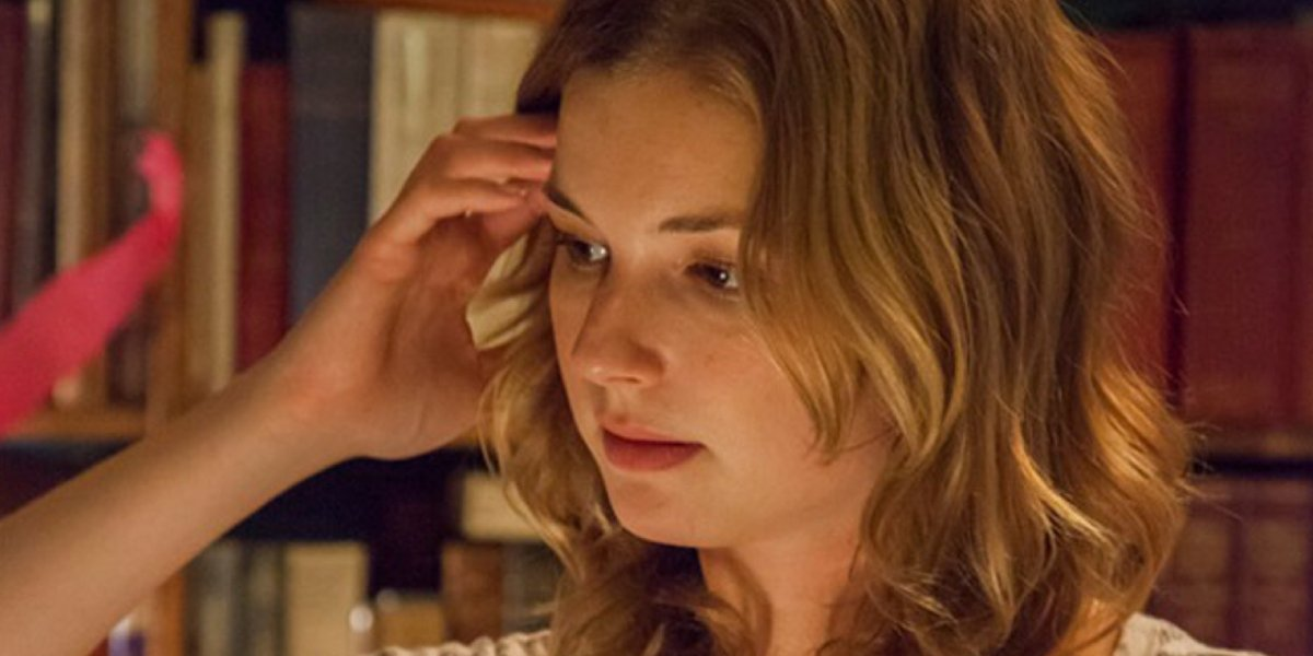Emily VanCamp in The Girl in the Book