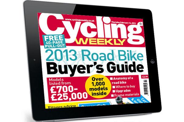 Cycling Weekly on iPad