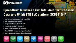 Spreadtrum unveils high performance LTE platforms SC9853I