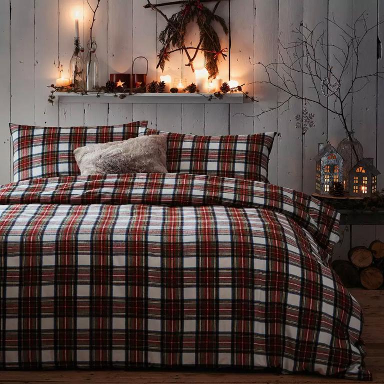 Debenhams Christmas bedding