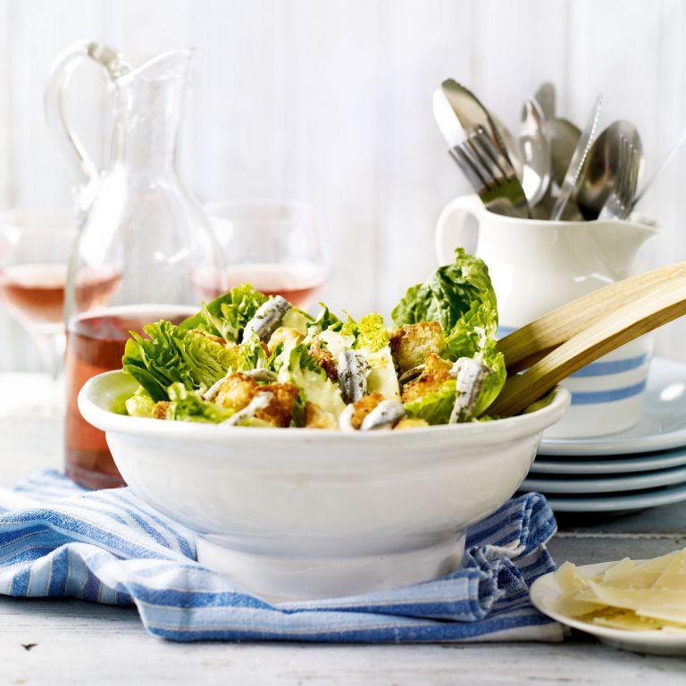 Classic Caesar Salad recipe-salad recipes-recipe ideas-new recipes-woman and home