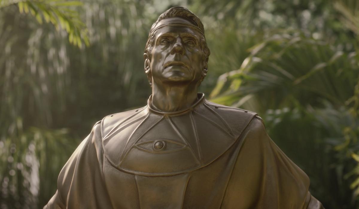 adrian veidt statue watchmen tv show