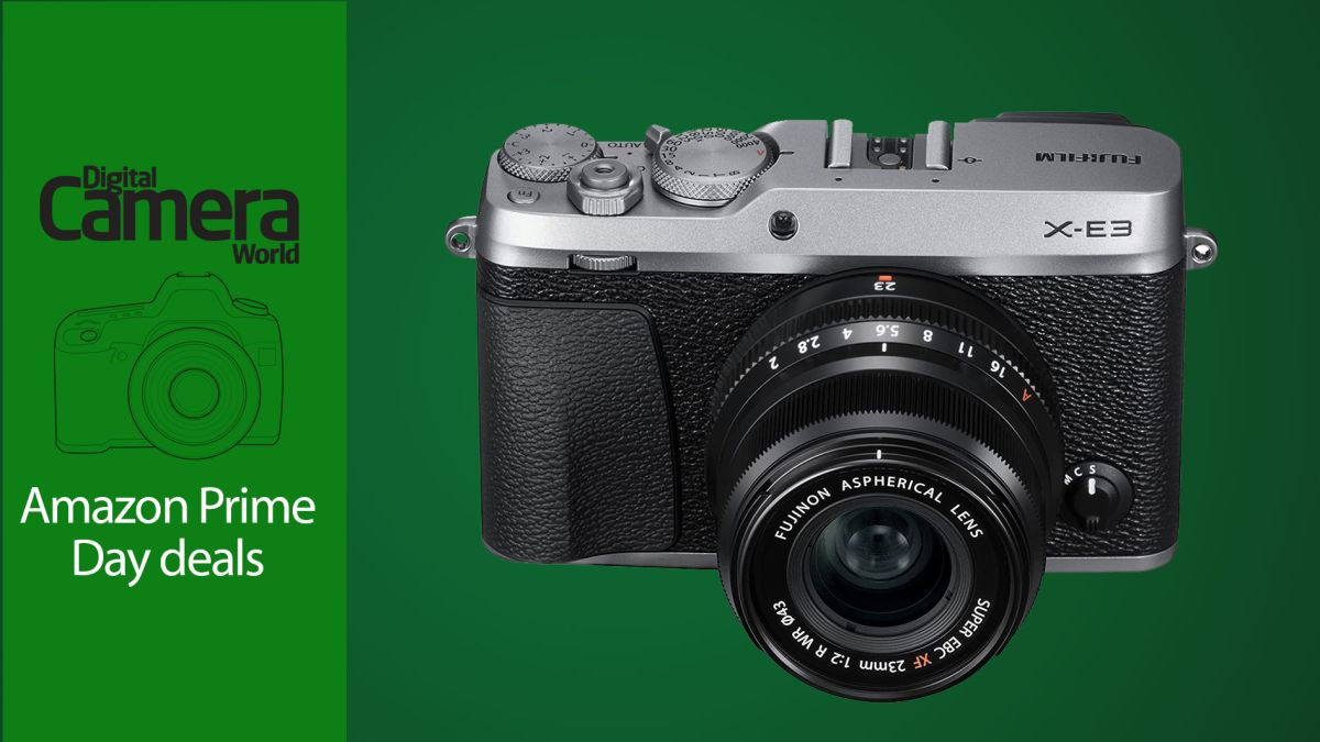 QUICK! Just hours left to grab the Fujifilm X-E3 at with a deep Prime Day discount
