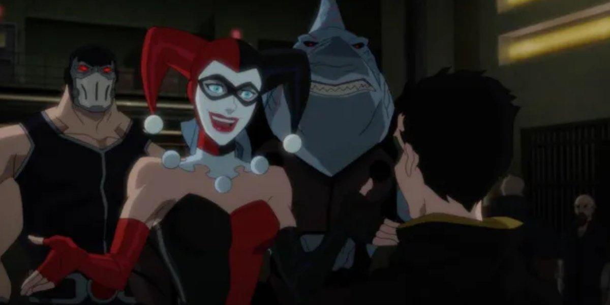 Hynden Walch as Harley Quinn in Justice League Dark: Apokolips War