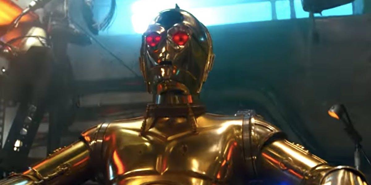 Red C-3PO eyes