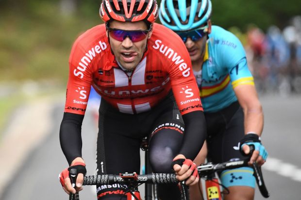 55c40f67fbaf9 Tom Dumoulin: 'It wasn't the plan to go in the break but I found myself on  the front'