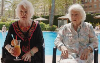 Benidorm's Elsie Kelly on now playing twins: 'Doreen is more upmarket than Noreen!'