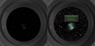 View Through the eVscope